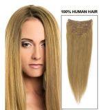 Hair Extensions에 100% 인간 Hair Clip