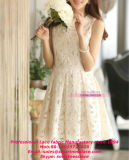 Lace Dress Garments를 위한 새로운 Polyester Lace Fabric