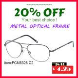 Frame ótico do metal inoxidável novo da venda por atacado da chegada (FCM5326)