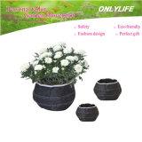 Potenciômetro de flor reusável do jardim Oh-Gf-025 Ecofriendly