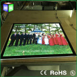 Advertizing Art Work LED Light Displayの水晶Acrylic LED Light Box Picture Frame Used
