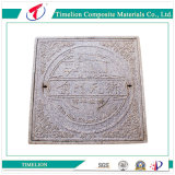 Frame를 가진 En124 D400 Decorative Composite Manhole Cover