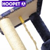 Postes del rasguño de los juguetes de la cuerda de DIY que suben del árbol de lujo del gato para el gato
