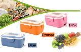 Cadre de déjeuner en plastique électrique chaud de cadre de déjeuner de Containerr de réchauffeur de nourriture