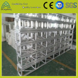 ферменная конструкция винта напольного случая пяди 12m алюминиевая с системой крыши