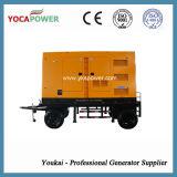 Комплект генератора силы двигателя дизеля 300kw Shangchai молчком