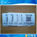 OEM 13.56MHz Ntag 213 RFIDの札のローラーのアンテナNFCステッカー