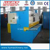 Maquinaria da estaca da maquinaria de corte da guilhotina hidráulica do controle de QC11y-6X3200 E21s & da placa de aço