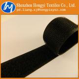 Gancho de leva y bucle autos-adhesivo de nylon negros