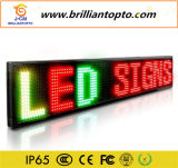 Im Freien einzelner Zeichen-Vorstand-niedriger Preis der Farben-LED