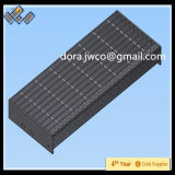 117th ISO Serrated Stair Treads Grating Canton Fair Recommend Steel Stair Manufacturer/