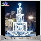 2015의 새로운 휴일 빛 3D 샘 가벼운 LED 조각품 빛 LED 크리스마스 주제 빛