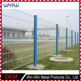 機密保護プライバシーによって溶接されるワイヤー金属の塀の正方形の安い庭の塀のパネル