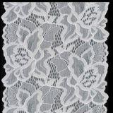 方法Dark - LingerieのためのオレンジColor Elastic Lace Trimming