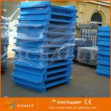 Exportação plástica de aço Stackable da pálete da caixa de pálete do melhor preço 2016