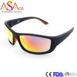 Occhiali da sole di sport degli uomini protettivi UV polarizzati nuovo modo (14318)