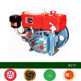 Mini motor Diesel de refrigeração água do único cilindro