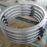 LKW-Kran zerteilt Aufbau-Maschinen-Gang-Herumdrehenring für Hitachi