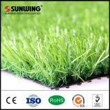 Relvado artificial sintético verde direto da grama da venda 30mm da fábrica com GV