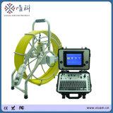 360 Grad drehen Abwasserkanal-Abfluss-Rohrleitung-Inspektion-Kamera mit 60m Kabel und Messinstrument-Gegenfunktion