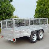 Aanhangwagen de achter elkaar van de Asbus met de Aanhangwagen van /Cargo van de Kooi