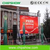Chipshow Rr5.33 옥외 LED 영상 스크린 임대 발광 다이오드 표시