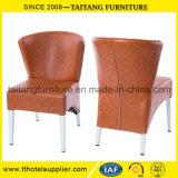 Самомоднейший металл китайского типа обедая стул с валиком пены