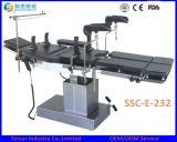 Tavolo operatorio multifunzionale elettrico Radiolucent chirurgico dell'ospedale