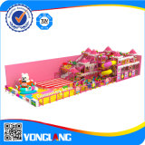 Детей конструкции высокого качества спортивная площадка превосходных крытая, Yl-Tqb024