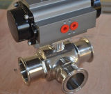 Clamped End를 가진 위생 Ball Valve