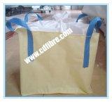 Grands sacs tissés par pp blancs ou beiges pour le transport minéral
