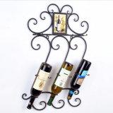 流行のワインラック金属の陳列だなのワインの棚の装飾的なラック