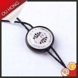 Sello cadena personalizada de prendas de vestir etiqueta colgante