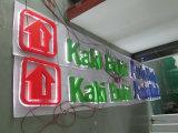 Letras de canaleta acrílicas comerciais do diodo emissor de luz da loja