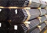 Tubo de acero destemplado negro redondo del carbón de Q345c