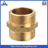 Adaptadores apropriados da mangueira da compressão de bronze do forjamento (YD-6001)