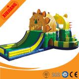 Diapositiva de salto inflable de los cabritos de interior del patio del parque de atracciones para la venta