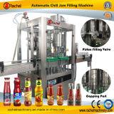 Máquina de rellenar automática del atasco de frambuesa