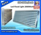 IP66 impermeabilizan la luz de inundación al aire libre de la iluminación 2000W LED del LED