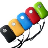 ABS Gummispritzlackierung 3 LED USB-Kurbel-Dynamo-Taschenlampe