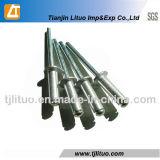 Rivet tubulaire en aluminium Semi-Creux creux