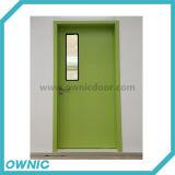 Puerta de oscilación de acero Gspm-1 para el desplazamiento de la sala abierto