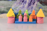 Nachfüllungs-Satz-Sand-Bewegungs-Sand-Spiel-Sand DIY scherzt Spielzeug-pädagogische Spielwaren