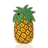 """AppleのiPhoneの6/6sケースの裏表紙4.7 """"スクリーンの柔らかいシリコーンの黄色のパイナップルデザイン"""