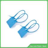 Phoque en plastique de garantie, phoque de sac, un phoque de blocage de temps 180mm