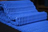 banda transportadora modular levantada 900series de la costilla POM