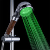 Filtro tenuto in mano dall'acquazzone del cambiamento LED di salto di tre colori (SDS-A22)
