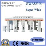 Impresora especial del rotograbado de la computadora de la Ultra-Anchura (GWASY-K)