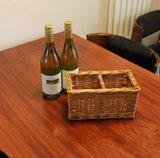 Quatro ou quarto Storage Wicker Basket de Two, Good para Decoration.