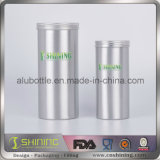 Leerer Aluminiumkaffee-Kanister